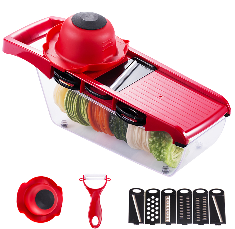 Multi High Quality Spiral Manual Slicer Potato Fries Fruit Vegetable Cutter Potato Fries Vegetable Tools Machine Kitchen Tool potato spiral cutter stainless steel electric fruit vegetable spiralizer professional kitchen tools potato cutting machine