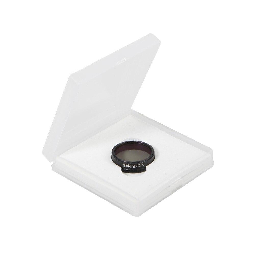 Selens Caméra len Pour DJI Phantom 3 Accessoires pour Appareil Photo Pro CPL Filtre Polarisant Lentille