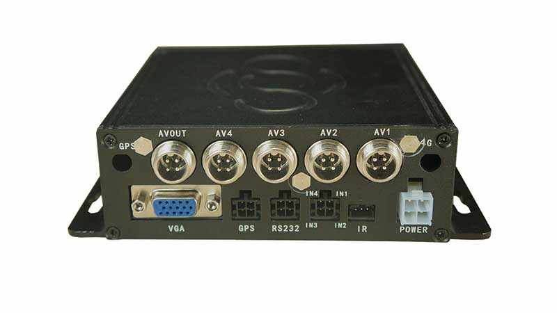 Rijden school Training auto video recorder 4CH auto registrar Met 4 mini Auto Camera Voor auto 4ch auto dvr kit