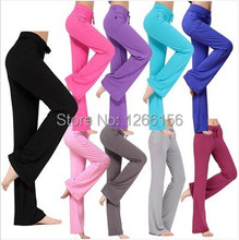 1pcs נשים של מכנסיים מכנסיים 2020 אביב אלסטי טהור כותנה בדים גבוהה מותניים מכנסיים ריקוד מכנסיים ילדה בבאגי מכנסי טרנינג אישה