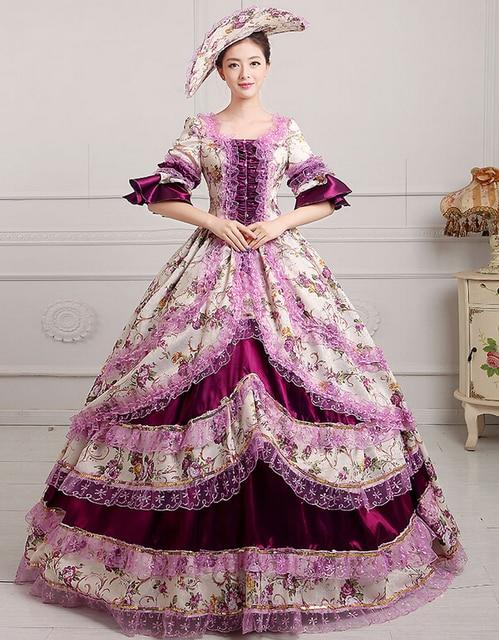 Free PP Medieval Renaissance Court Queen Victorian Ball Dress ...