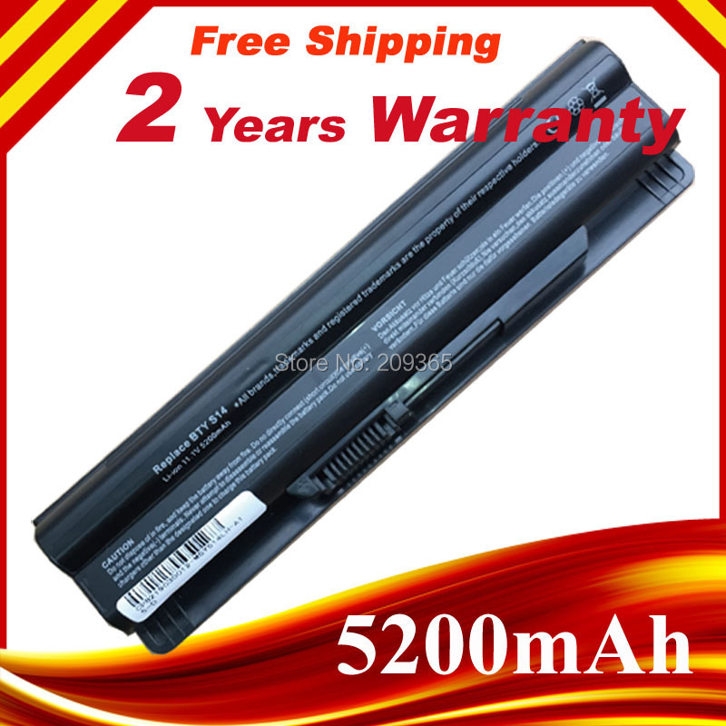 5200mAh Replacement laptop battery for MSI GE620,GE620DX,MS-1482MS-16G1 MS-16G4 MS-16G7 FR700 FX700