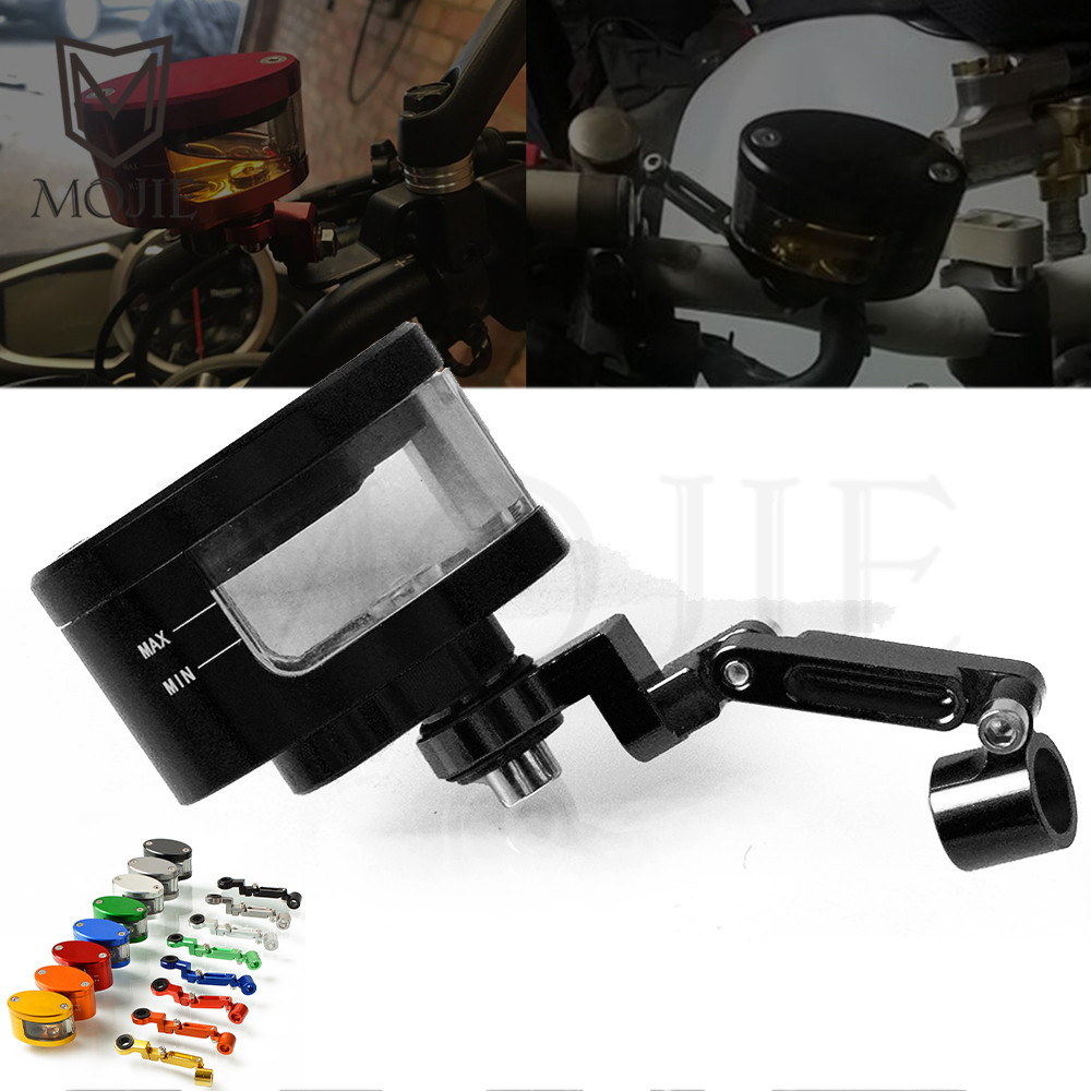 Motorcycle Brake Fluid Reservoir Clutch Tank Cylinder Master Oil Cup For HONDA CBR600RR F5 CB400 VTEC <font><b>1</b></font> <font><b>2</b></font> 3 4 th <font><b>1300</b></font> Hornet 600 image