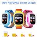 Criança smart watch q90 tela colorida sensível ao toque q50 q80 chamada sos Location Finder Locator Dispositivo Monitor de Rastreador GPS Criança Seguro Anti Perdido