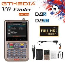 V8 Finder Meter SatFinder Digital Satellite DVB S/S2/S2X HD 1080P Receptor TV Signal Receiver Sat Decoder freesat