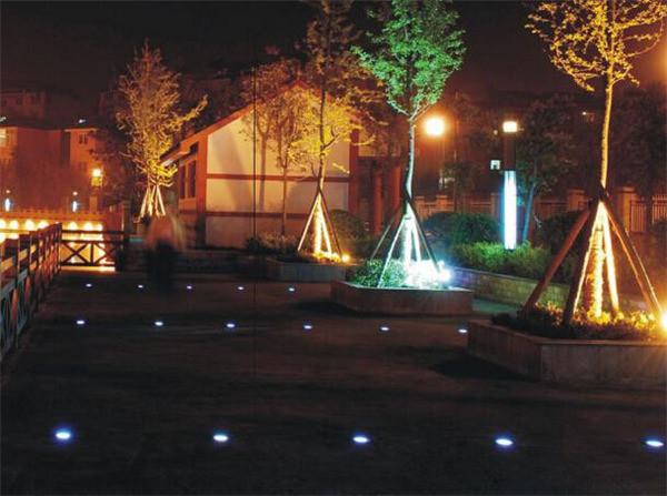 Solar Power 3 LED Light Buried Lamp (8)