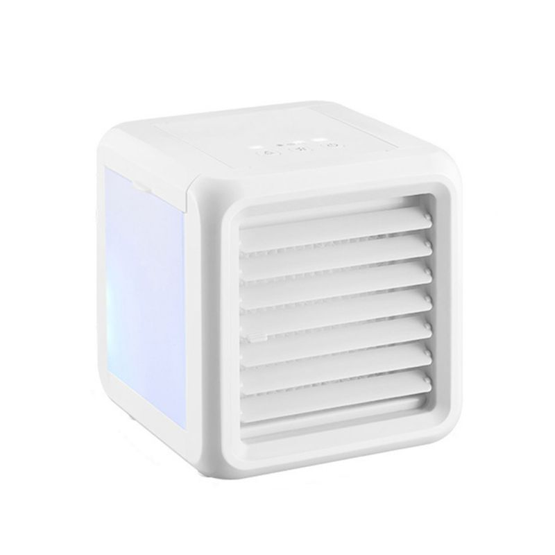 3 niveaux de vent Mini bureau USB ventilateur de refroidissement Portable Table personnelle climatiseur humidificateur ventilateurs