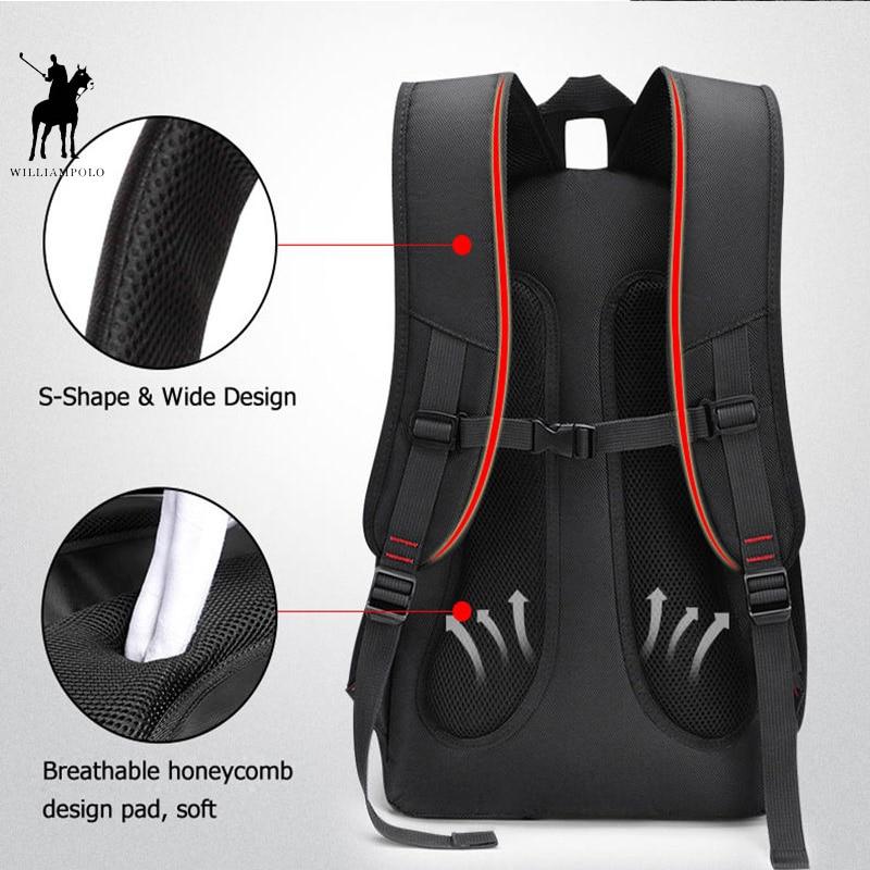 Brand Laptop Backpack Men's Travel Bags Multifunction Rucksack Waterproof Oxford USB Charge Design Bag Computer Backpacks