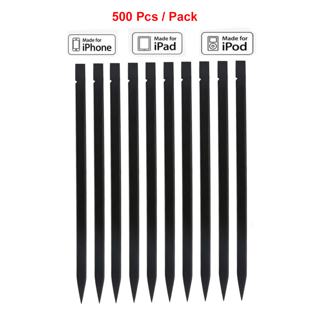500pcs/lot 12CM Universal Black Nylon Spudger Opening Pry Tool Kit for Mobile Phone iPad Tablets Macbook Laptop PC Repair