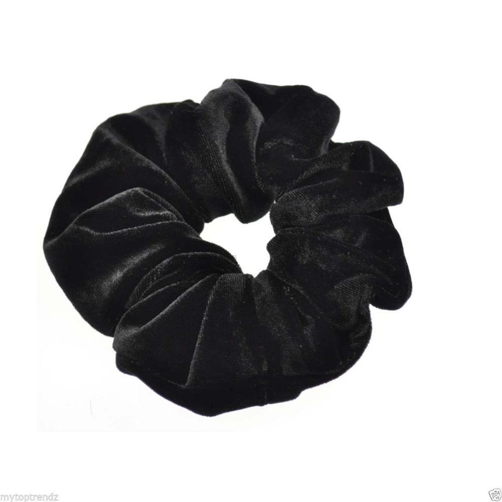 snowshine YLW 10PC Velvet Ponytail Holder Hair Scrunchies Hair Ties Donut Maker Hairbands freeshipping