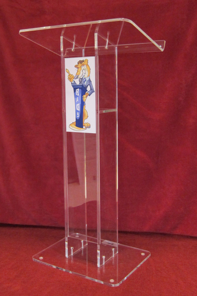 Free Shipping Crystal Like Plexiglass Professional Design Simple High Lucency Reception Desk Acrylic Lectern Podium