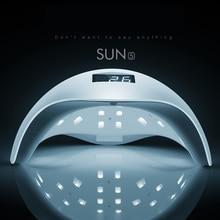SUN5 48W White Light Professional LED&UV Lamp For Gel Machine Infrared Sensor Timer Set Gel All UV Gel Nail Polish