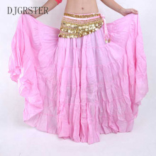 DJGRSTER High quality Women Belly Dancing Skirts Cheap Costume Gypsy 13 Colors Available Training Dress
