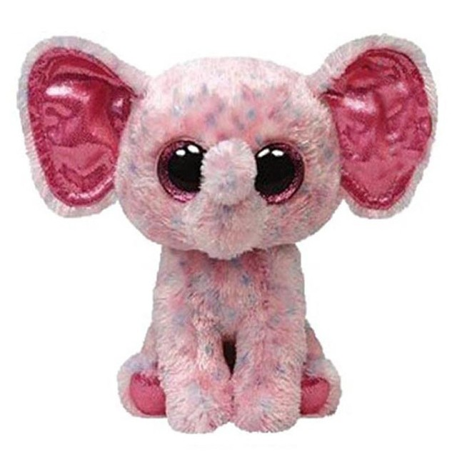 Ty Beanie Boos Stuffed & Plush Animals Pink Elephant Toy Doll