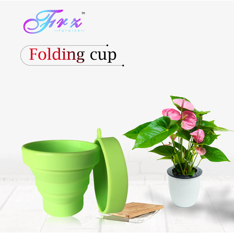 Menstrual sterilizing cup Recyclable flexible Collapsible Cup to clean Menstrual Cup Camping Foldable Sterilize Cup cup