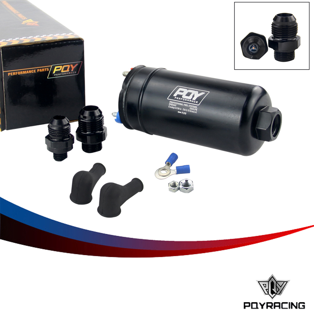 PQY RACING EFI 380LH 1000HP TOP QUALITY External Fuel Pump E85 Compatible 044 style New PQY