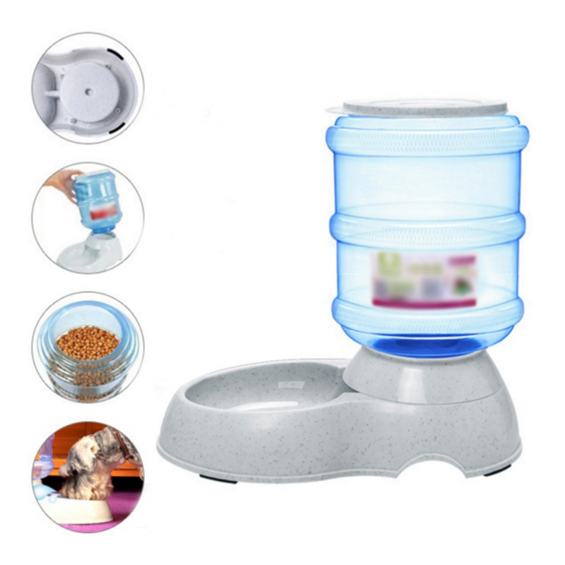 Alimentador automático para mascotas, Alimentador automático para mascotas, fuente para beber, fuente de agua para gatos, Alimentador automático para perros, proveedores h2
