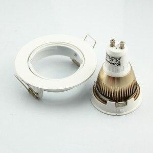 Image 5 - Spot lumineux encastrable GU10/MR16, 2 pièces, en aluminium, éclairage circulaire, luminaire dintérieur, luminaire de plafond, Led, livraison gratuite
