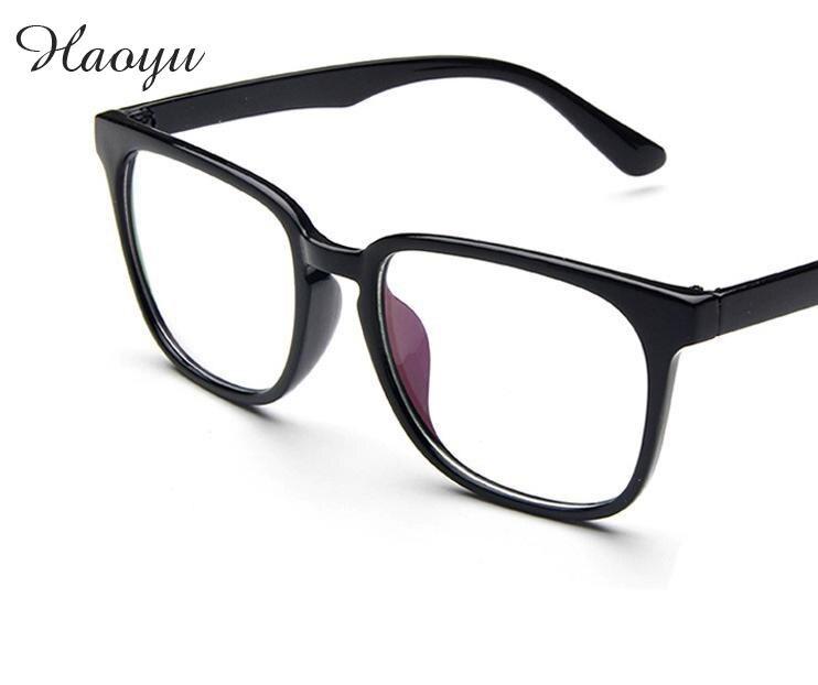 Haoyu Livraison Gratuite Marque Designer Lunettes Cadre Lunettes Cadre  Armature Optique de Prescription Lunettes Armacao oculos de grau 1af5f712802b