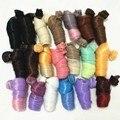 5 шт./лот BJD парик кукла DIY - провод ручной модные вьющиеся волосы парики для барби