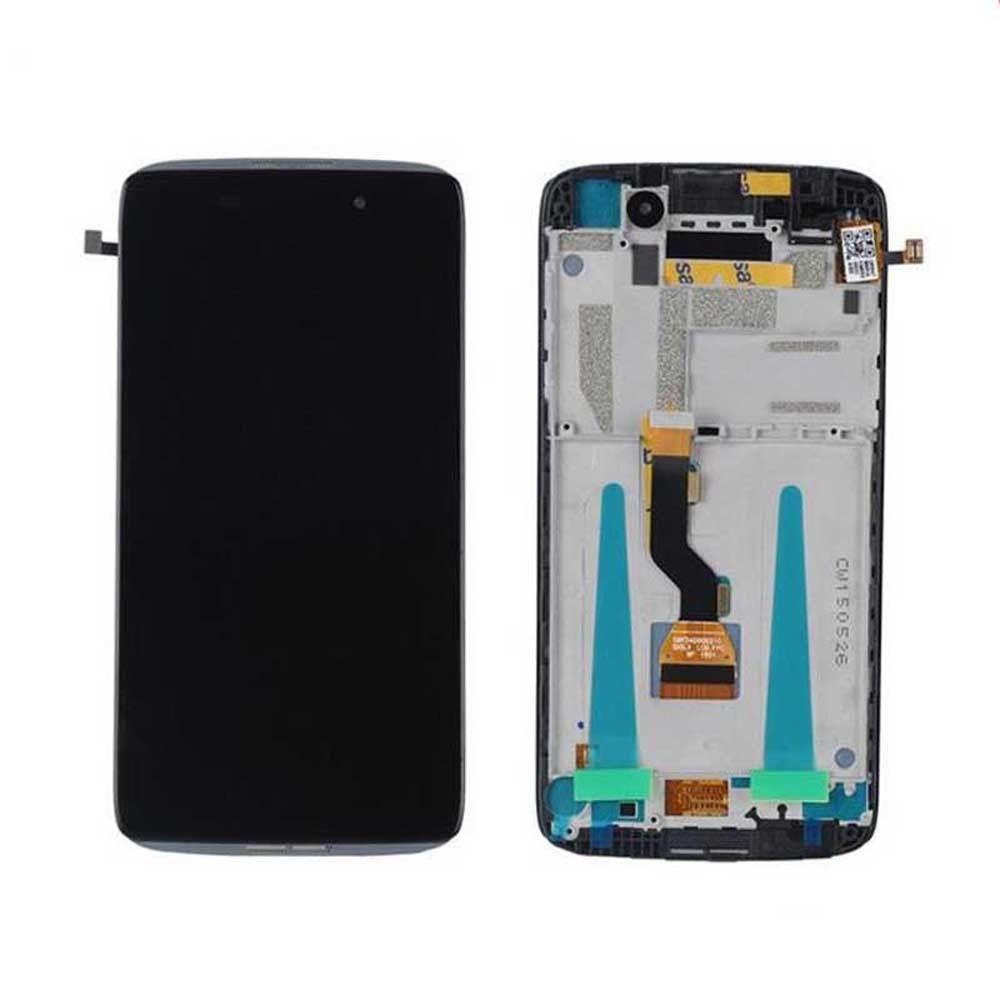 """imágenes para 4.7 """"Pantalla LCD Para Alcatel Ídolo 3 6039 6039A 6039 K 6039Y LCD Screen Display Touch Digitalizador Asamblea Con marco"""