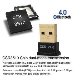 Image 5 - Adattatore Usb per ricevitore Bluetooth adattatore trasmettitore Audio per Dongle Bluetooth V4.0 ricevitore Wireless Bluetooth Aux per Pc