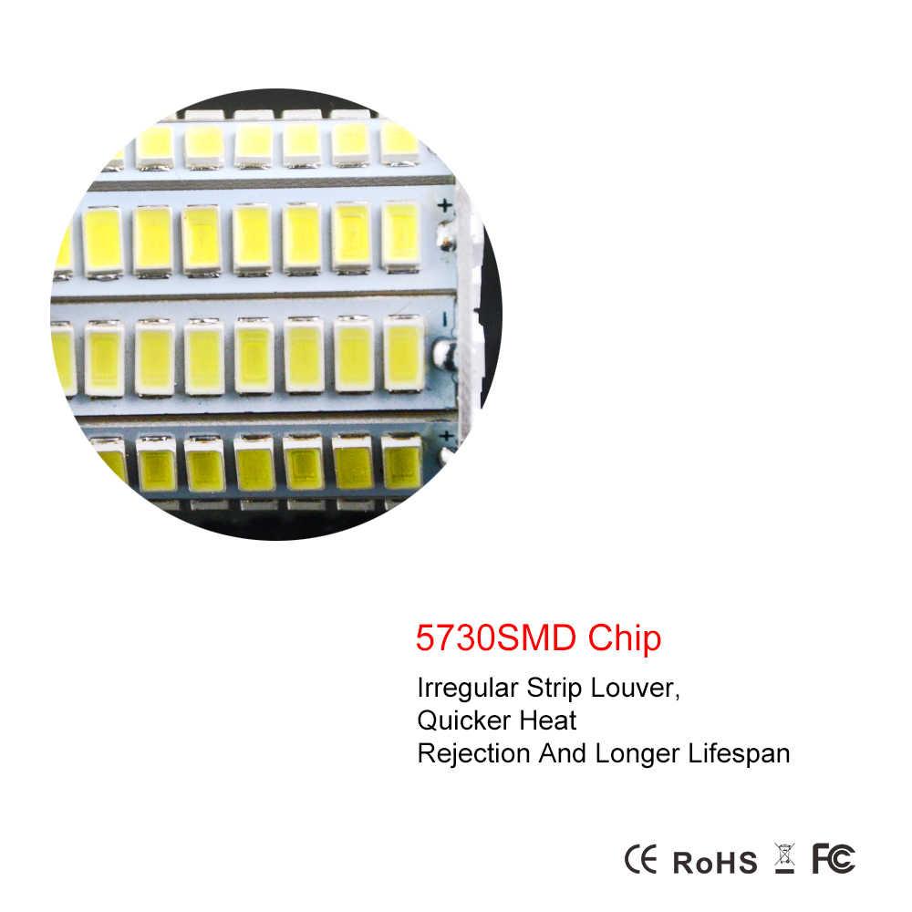 E14 / E27 Led Bulbs Lamp 24-136Leds AC220V 230V 240V SMD5730 Bombillas Led Corn Lights No Flicker Design Lamapada Lighting 1PCS