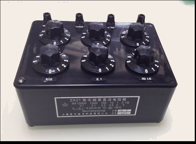 Precision Variable Resistor Resistance Box 0.1R to 99.9999kR ZX21 precision