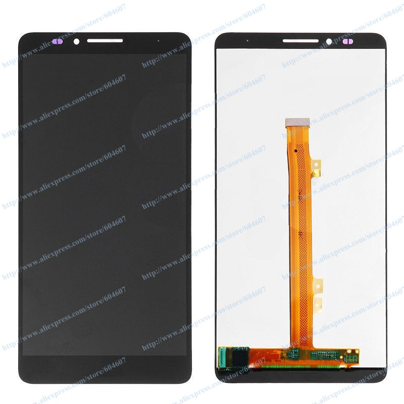 ФОТО New OEM Black Replace Touch screen with Digitizer+LCD Display Assembly For Huawei Mate 7 MT7 Phone