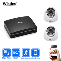 Wistino CCTV IP Camera XMeye Surveillance Camera NVR Kits 1080P Indoor Security Camera System Video Camera