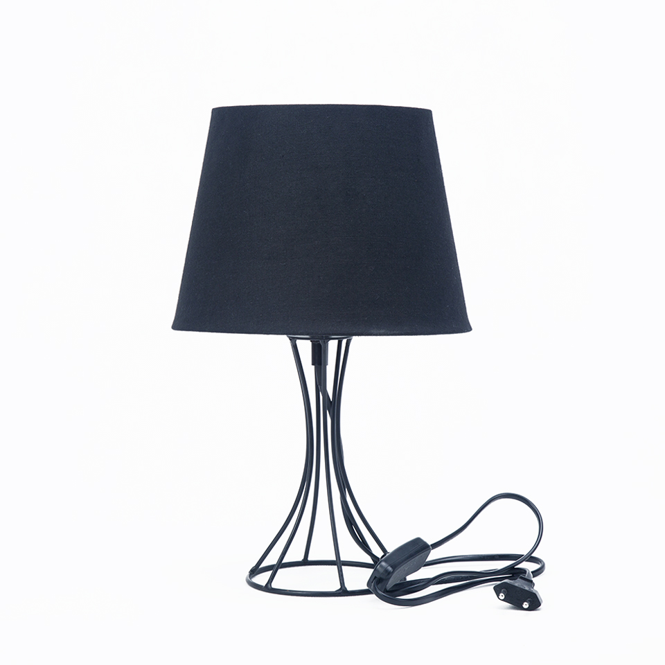 Aliexpress buy euro style led black table lamp iron lamp aliexpress buy euro style led black table lamp iron lamp holder desk lamp reading lamp night lighting for bedroom home decor from reliable black table geotapseo Choice Image