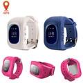 GPS Relógio Inteligente Bebê Q50 Crianças Chamada SOS Localizador Rastreador Localização Um nti-Perdida Smartwatch Aptidão Rastreador relógio para iOS Android