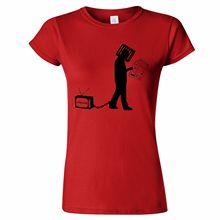 CONSUME CONFORM WOMENS T SHIRT FREEDOM ANTI CAPITALISM ANARCHY RIGHTS PROPAGANDA Fashion T-Shirts Summer Straight 100% Cotton