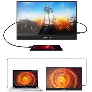 Image 5 - ZEUSLAP العشاء خفيفة 1080P + HDR المحمولة رصد 1920*1080P IPS شاشة ل PS3 PS4 XBOX سيارة عرض الكمبيوتر للتبديل