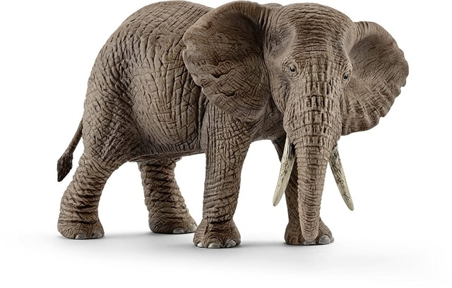 African Elephant Toys For Boys : New high quality female african elephant toy figure in craft