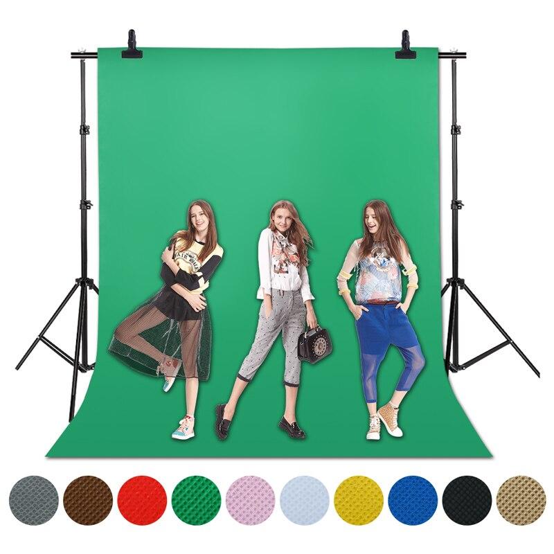 1,6X4/3/2 M pantalla verde Foto fondo fotografía Fondo fondos estudio Video tela no tejida Chromakey fondo de tela