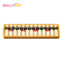 Enjoybay Plastic Abacus Toys w / Liquidator 13 Digit Aritmatika Soroban Math Calculator Kids Learning Educational Caculating Toy