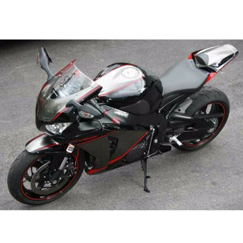 Matte Black w/ Red Fairing Injection ABS Plastic for 2012-2015 Honda CBR 1000 RR 1000RR