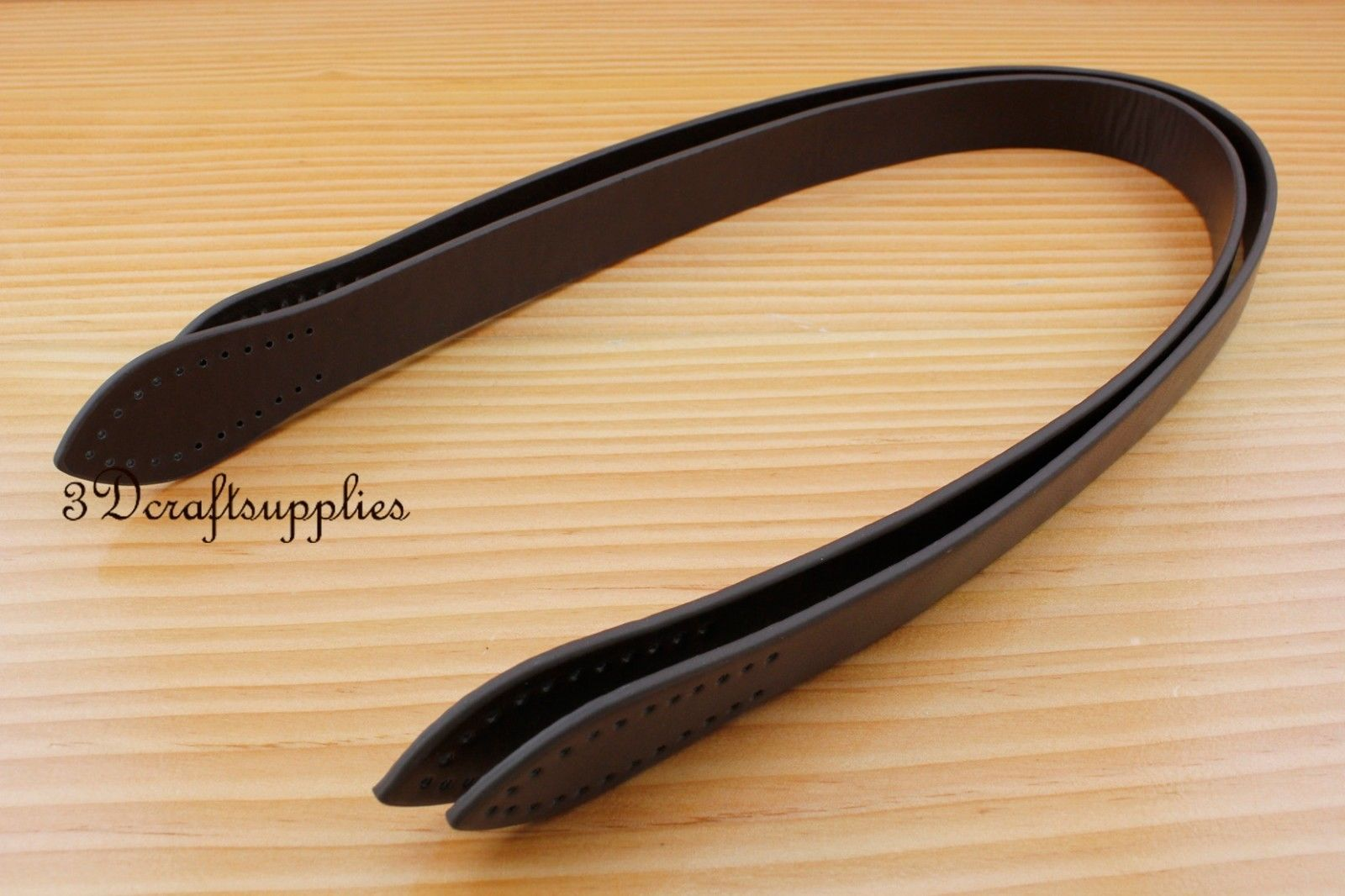 A Pair Of 60 Cm PU Leather Purse Handles Sew On For Bag 5 Colors CF56 - CF60