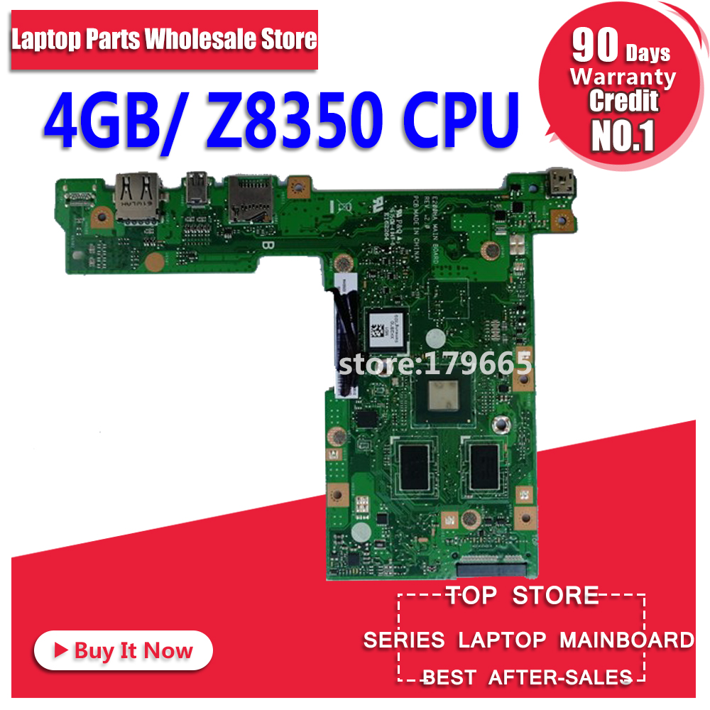 E200HA MAIN_BD._4G RAM /Z8350/AS 32G-SSD E200HA motherboard For Asus E200 E200H E200HA Laptop motherboard MainboardE200HA MAIN_BD._4G RAM /Z8350/AS 32G-SSD E200HA motherboard For Asus E200 E200H E200HA Laptop motherboard Mainboard