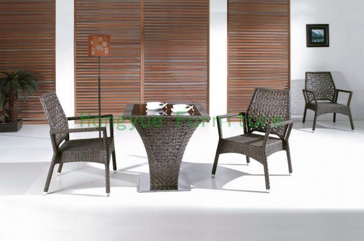 Brown rattan garden table and chairs,outdoor furniture supplier корзинка для хранения garden rattan