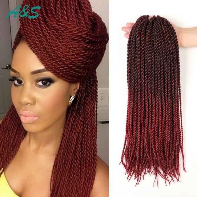 Fashion 18 Inch 30 Strandspack 1blue 1burg 133 1b Senegalese