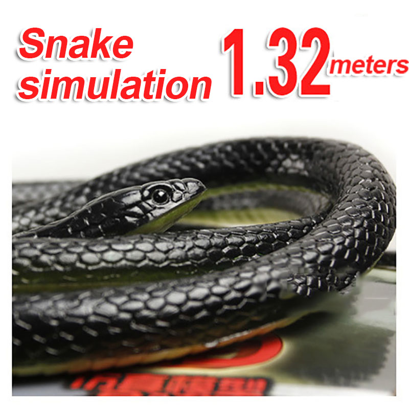 Whole-Toy Halloween-Products Snake Rubber Fools Fake The High-Simulation Xinqite Super-Lifelike
