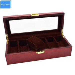 Деревянный корпус для часов luxus watchbox Kol Saati caja reloj Kut органайзер для часов cajas para relojes por mayor Подарочный держатель