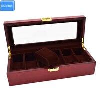 Wooden Watch Case luxus watchbox Kol Saati caja reloj Kut Watch Stand Organizer cajas para relojes por mayor Watches Gift Holder