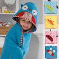 Mother's Choice 100% cotton baby hoodies towel baby cotton blanket Free shipping