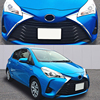 JY 2pcs Sus304 Stainless Steel Front Bumper Grill Side Trim Car Styling Cover Accessories For Toyota