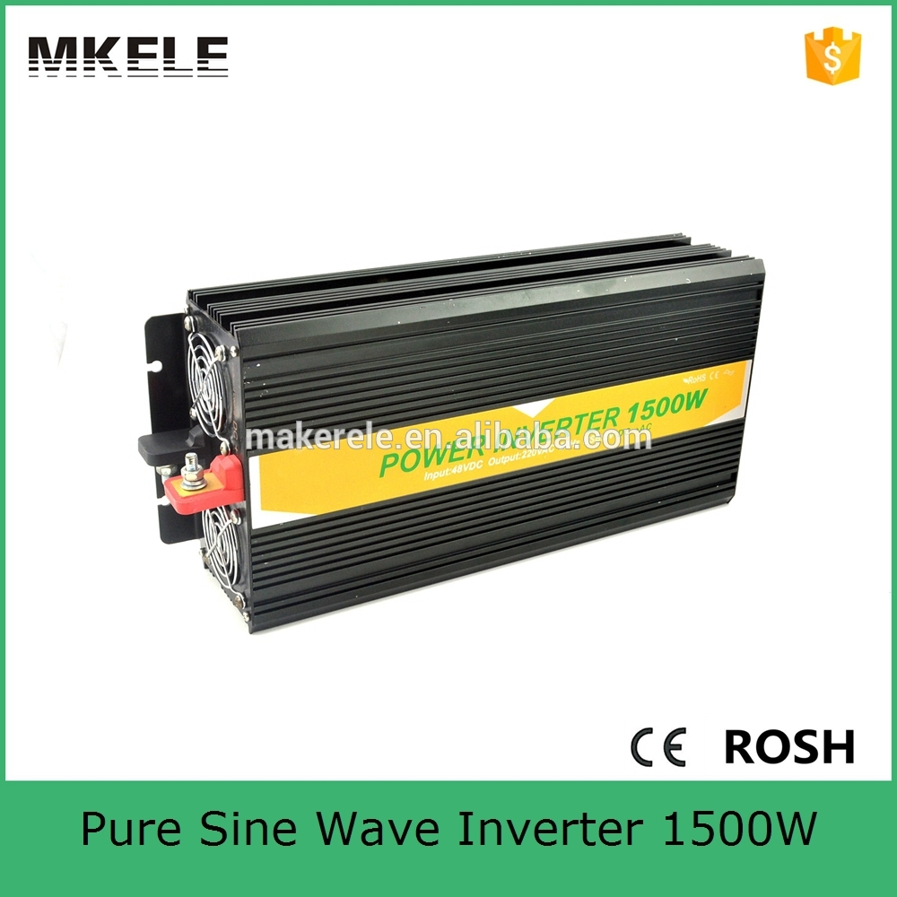 цена на MKP1500-481B 48v to 120vac dc to ac off-grid 1.5kw inverter 1500w home power inverters,tbe pure sine wave inverter