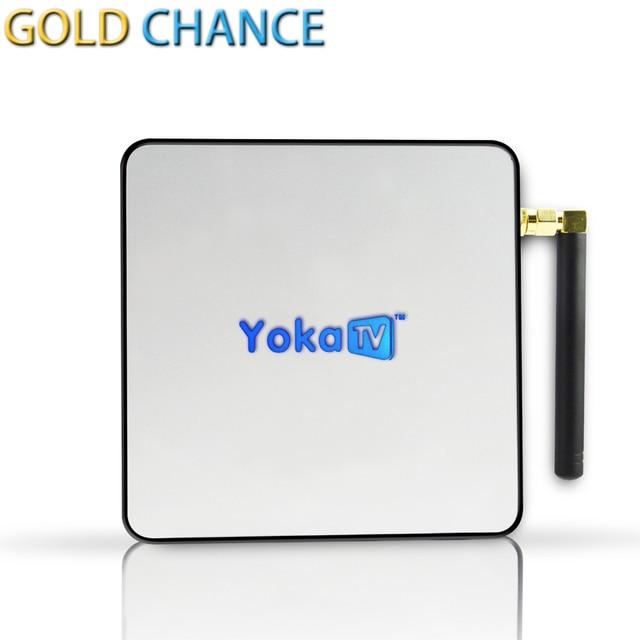 YOKATV KB2 S912 Amlogic Cuadro de TV Android Octa core ARM Cortex-A53 2G/32G Android 6.0 TV Box WiFi bt4.0 2.4G/5.8G H.265 4 K Jugador