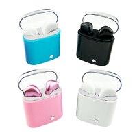 V4 2 Bluetooth Earphones Pair Set TWS Wireless Earphone Music Earbuds For Apple IPhone 6 7